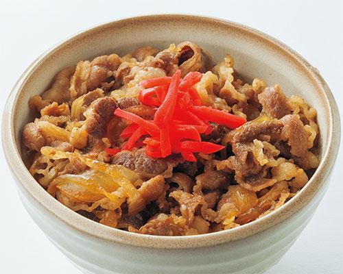 肉丼(ミニ丼)