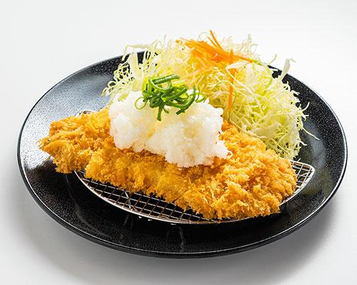 おろしロース定食
